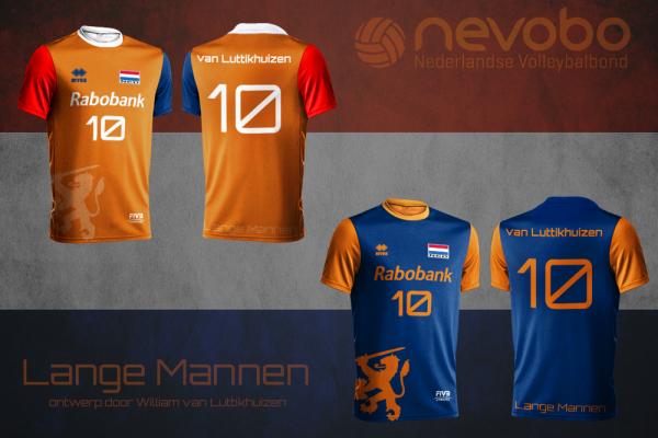 Inzending ontwerpwedstrijd volleybalshirts