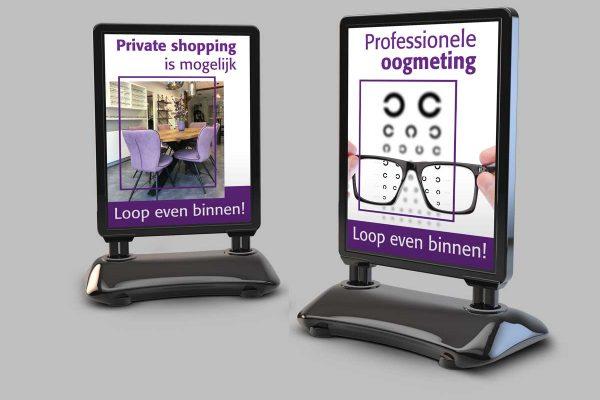 Stoepbord De Brillenkamer